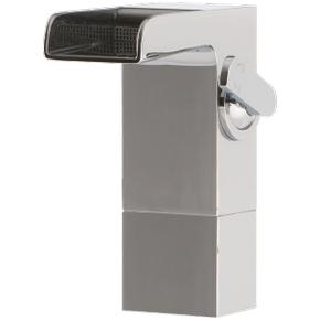 Kascade Vessel Lav Faucet Medium Chrome