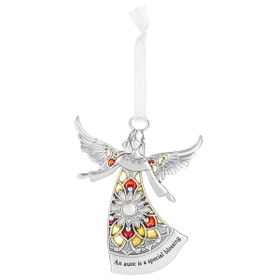 Angel Ornament - An aunt is a special blessing