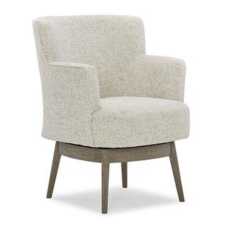See Details - KELIDA Swivel Barrel Chair