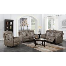 Top Flight Taupe (Sofa & Love) Power Recliner