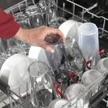 GE Profile Fingerprint Resistant Top Control with Stainless Steel Interior Dishwasher with Sanitize Cycle & Dry Boost with Fan Assist