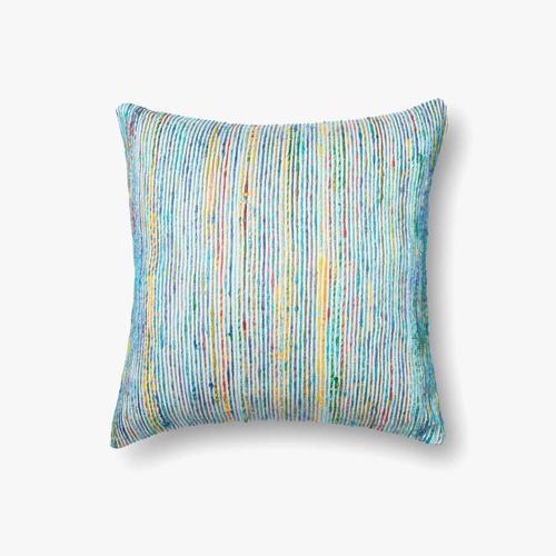 P0242 Blue / Multi Pillow