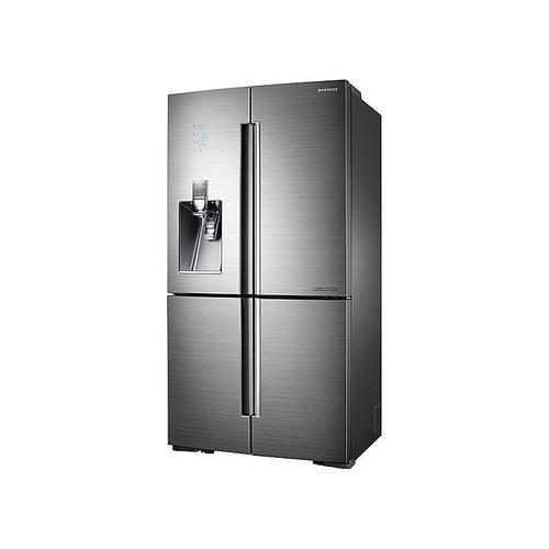 Samsung - 24 cu. ft. Counter Depth 4-Door Flex™ Chef Collection Refrigerator