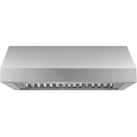 """36"""" Pro Wall Hood, 12"""" High, Silver Stainless Steel"""