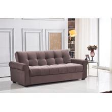 See Details - 7576 Dark Brown Sofa *DISCONTINUED*