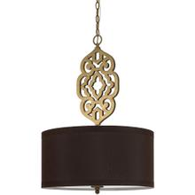 AF Lighting 8422 Pendant- Satin Brass, 8422-4H