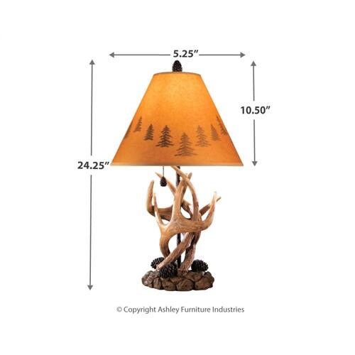 Signature Design By Ashley - Derek Table Lamp (set of 2)
