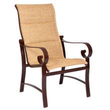 See Details - Belden Padded Sling High-Back Dining Armchair