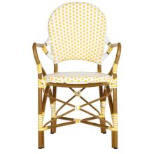 Hooper Indoor - Outdoor Stacking Armchair - Yellow / White
