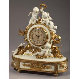 Clock With Cherubs