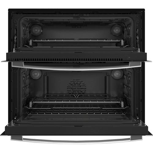 """GE Profile 30"""" Smart Built-In Twin Flex Convection Wall Oven Stainless Steel - PTS9200SNSS"""