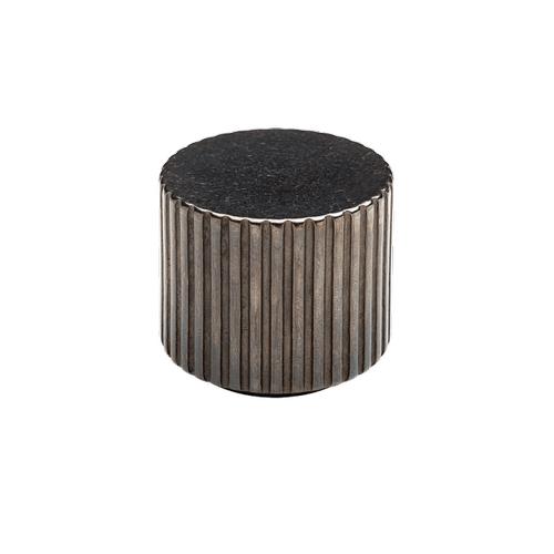 Rocky Mountain Hardware - Flute Reveal Knob - CK10020 White Bronze Brushed