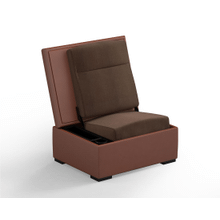 JumpSeat Ottoman, Canyon Cover / Mocha Seat