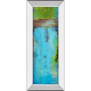 """""""Fisher Island I"""" By Erin Ashley Mirror Framed Print Wall Art"""