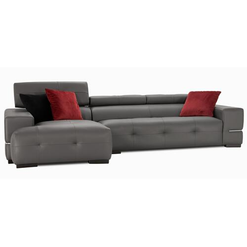 Paris Sectional (173-097; Wood legs - Tea T37)