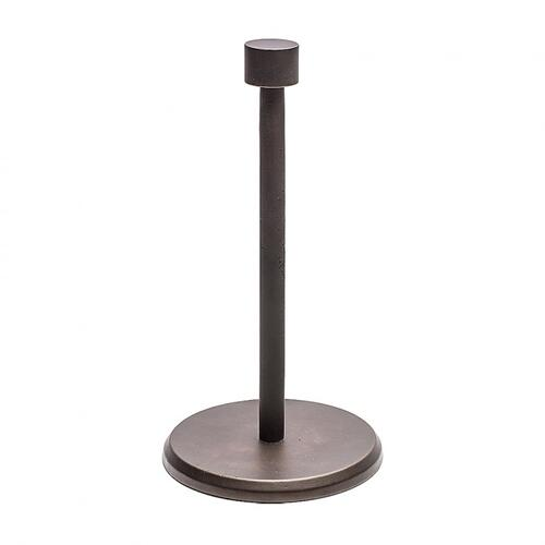 Standing Paper Towel Holder - PT5 Silicon Bronze Brushed