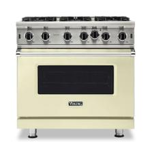 "36"" Open Burner Gas Range - VGIC5362 Viking Professional Product Line"