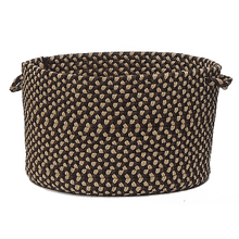 "Brook Farm Basket BF42 Blackberry 14"" X 10"""