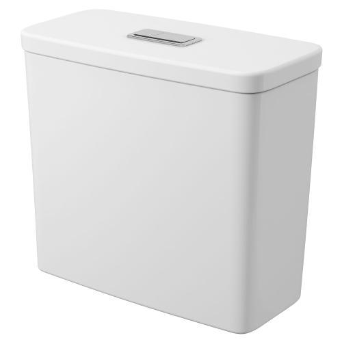 Eurocube 1.28/1.0GPF Dual Flush Toilet Tank Only