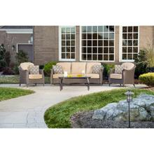 Hanover Gramercy 4-Piece Seating Set in Country Cork, GRAMERCY4PC