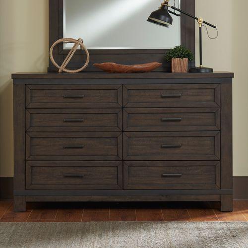Liberty Furniture Industries - 8 Drawer Dresser