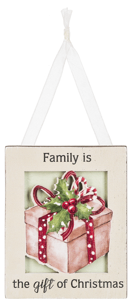 Ornament - Family is the gift