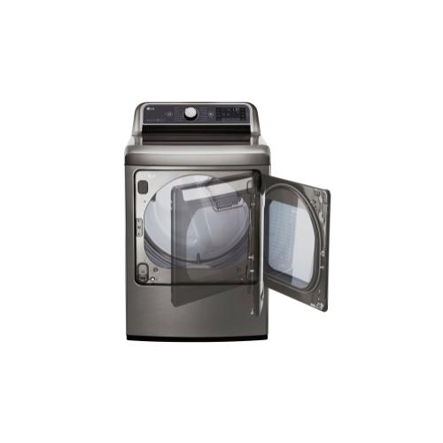 7.3 cu. ft. Ultra Large Capacity TurboSteam™ Gas Dryer with EasyLoad™ Door