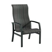 Muirlands Woven Bucket High Back Dining Chair