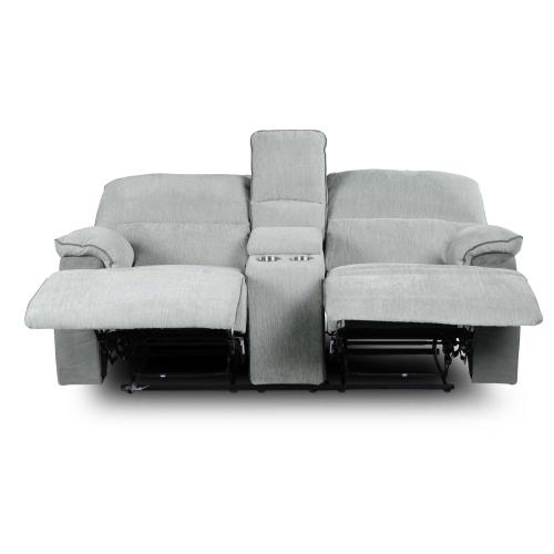 Cyprus Manual Reclining Console Loveseat