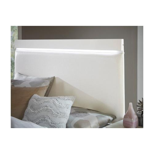 Eastern King Bed, LED Lighting
