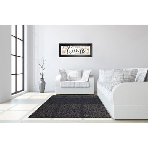 "Classy Art - ""Home"" By Marla Rae Framed Print Wall Art"