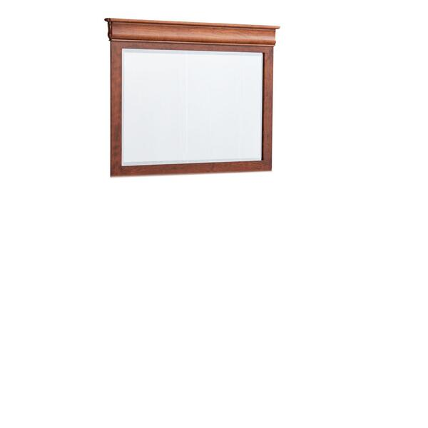 "Louis Philippe Mule Chest Mirror, 44""w"