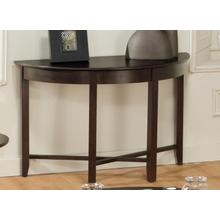 View Product - Demilune Half Round Sofa Table