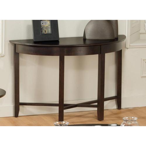 - Demilune Half Round Sofa Table