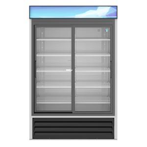 HoshizakiRM-45-SD-HC, Refrigerator, Two Section Glass Door Merchandiser