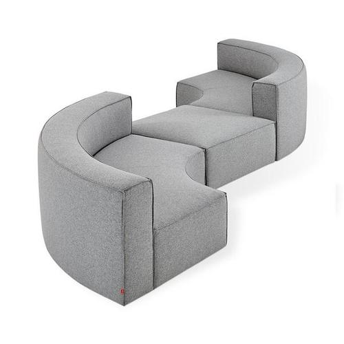 Product Image - Mix Modular 3-PC Seating Group A Parliament Stone