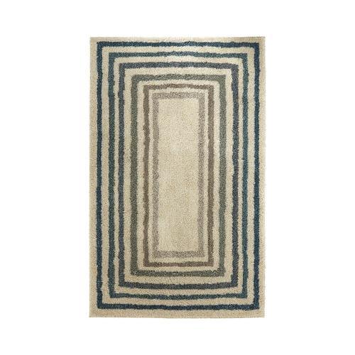 Mohawk - Sketched Border, Blue- Rectangle