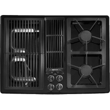 Designer Line Modular Gas Downdraft Cooktop, 30""