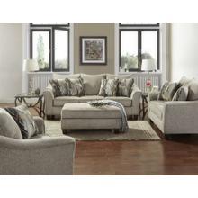 Camero Platinum Fabric 4-Piece Living Room Set