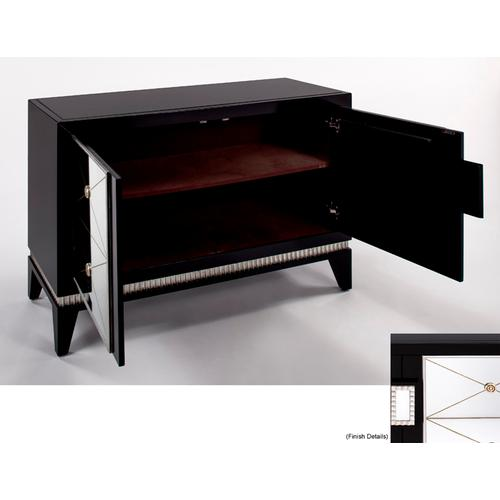 """Artmax - Cabinet with 2 Doors 48x18.5x34"""""""
