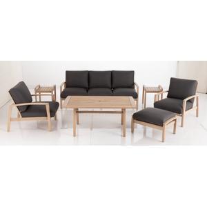 Maddie Karri Gum FSC KD Deep Seating Lounge Chair w/ Sunbrella cushion