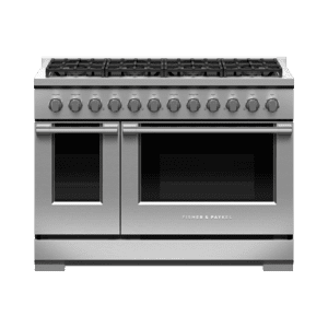 "Fisher & PaykelGas Range, 48"", 8 Burners, LPG"