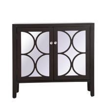 36 inch mirrored cabinet in Dark Walnut