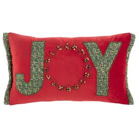 Cinnamon Pillow - Green / Red