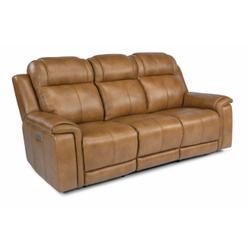 Kingsley Power Reclining Sofa with Power Headrests and Lumbar