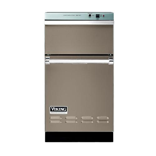 """Viking - Taupe 18"""" Wide Trash Compactor - VUC"""