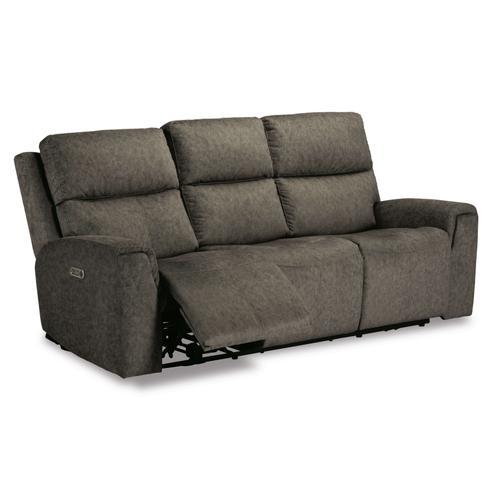 Flexsteel - Jarvis Power Reclining Sofa with Power Headrests