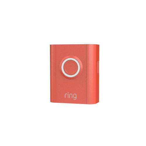 Ring - Interchangeable Faceplate (for Video Doorbell 3, Video Doorbell 3 Plus, Video Doorbell 4) - Ice Blue