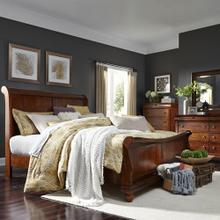 View Product - King Sleigh Bed, Dresser & Mirror, Chest
