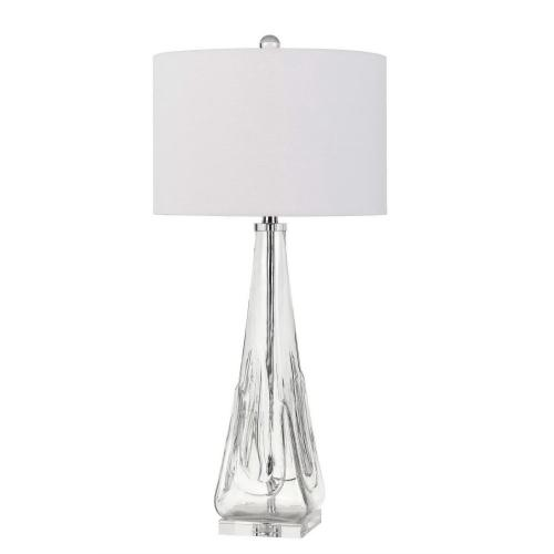 150W 3 Way Piacenza Glass Table Lamp